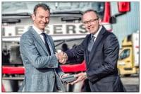 Belgian Road Charging - DKV registered 40000th OBU to H.Essers