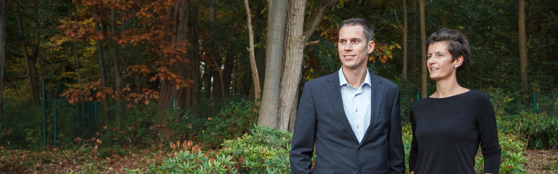 Conundra Founders: Steven De Schrijver and An De Wispelaere